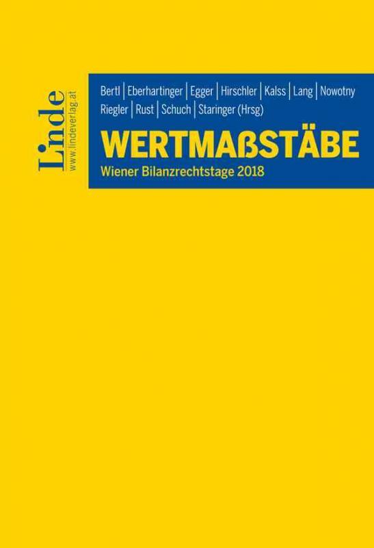 Cover-Bild Wertmaßstäbe