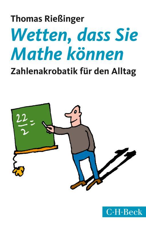 Cover-Bild Wetten, dass Sie Mathe können