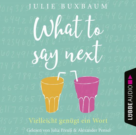 Cover-Bild What to say next