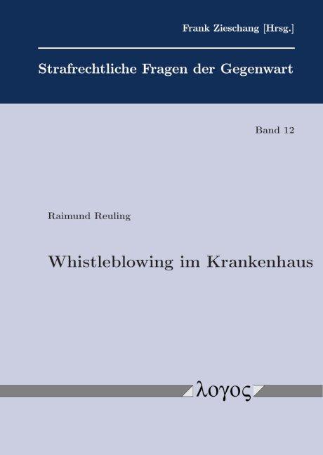 Cover-Bild Whistleblowing im Krankenhaus