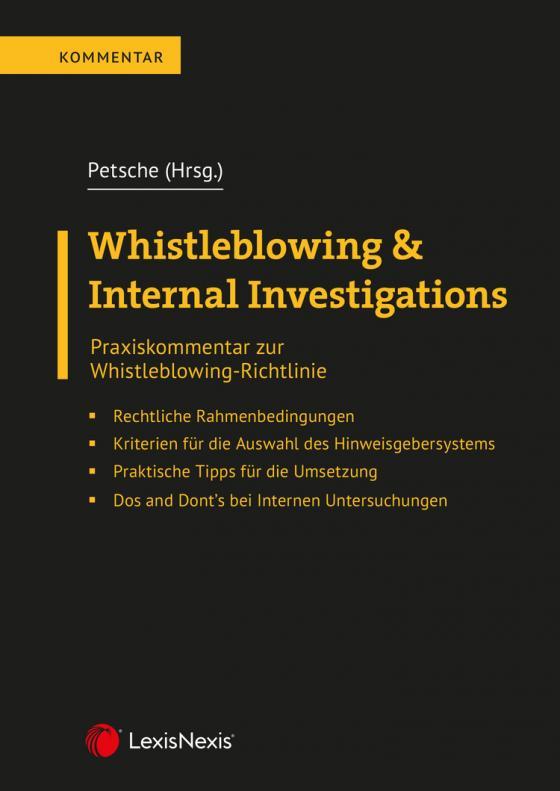Cover-Bild Whistleblowing & Internal Investigations