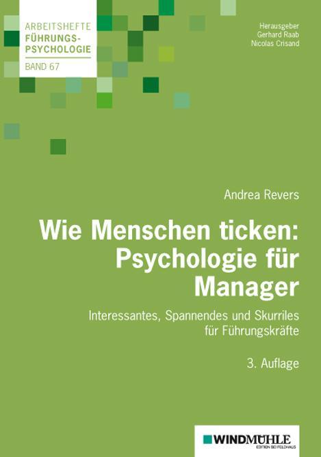 Cover-Bild Wie Menschen ticken: Psychologie für Manager