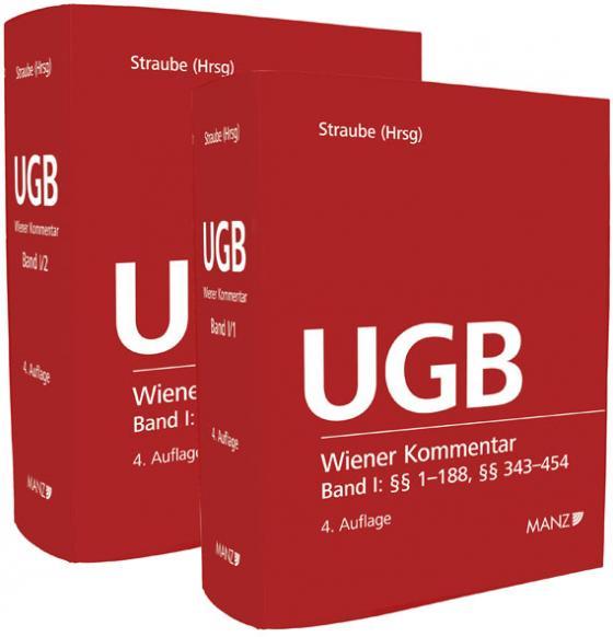 Cover-Bild Wiener Kommentar zum Unternehmensgesetzbuch - UGB - Band I + Band II