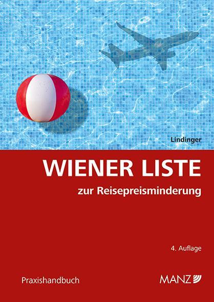 Cover-Bild Wiener Liste zur Reisepreisminderung