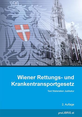 Cover-Bild Wiener Rettungs- und Krankentransportgesetz
