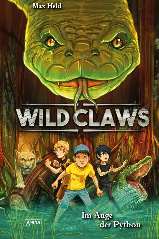 Cover-Bild Wild Claws / Im Auge der Python