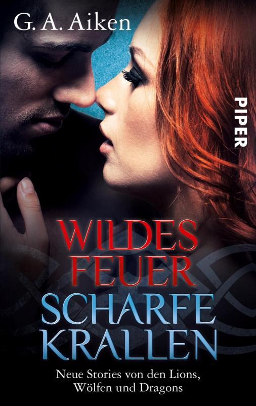 Cover-Bild Wildes Feuer, scharfe Krallen