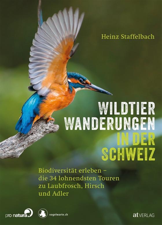 Cover-Bild Wildtier-Wanderungen in der Schweiz