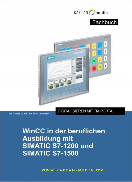 Cover-Bild WinCC in der beruflichen Ausbildung mit SIMATIC S7-1200 /1500