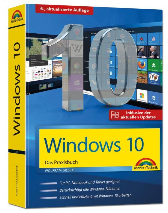 Cover-Bild Windows 10 Praxisbuch inkl. der aktuellen Updates von 2019
