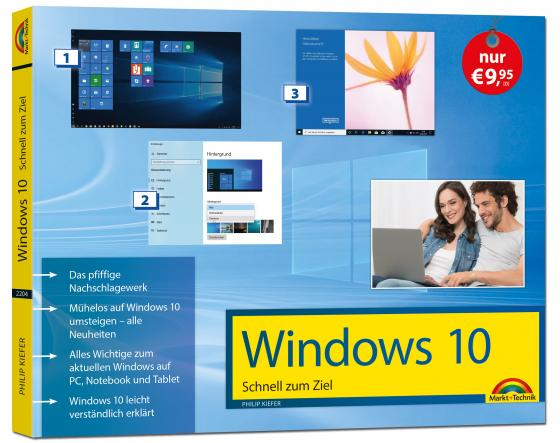 Cover-Bild Windows 10 Schnell zum Ziel inklusive der aktuellsten Updates von 2020