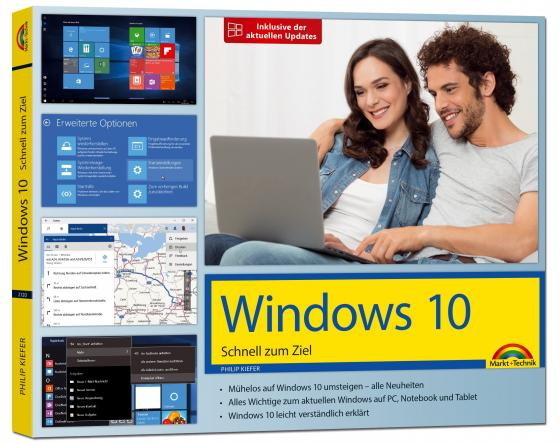 Cover-Bild Windows 10 – Schnell zum Ziel - inklusive der aktuellsten Updates