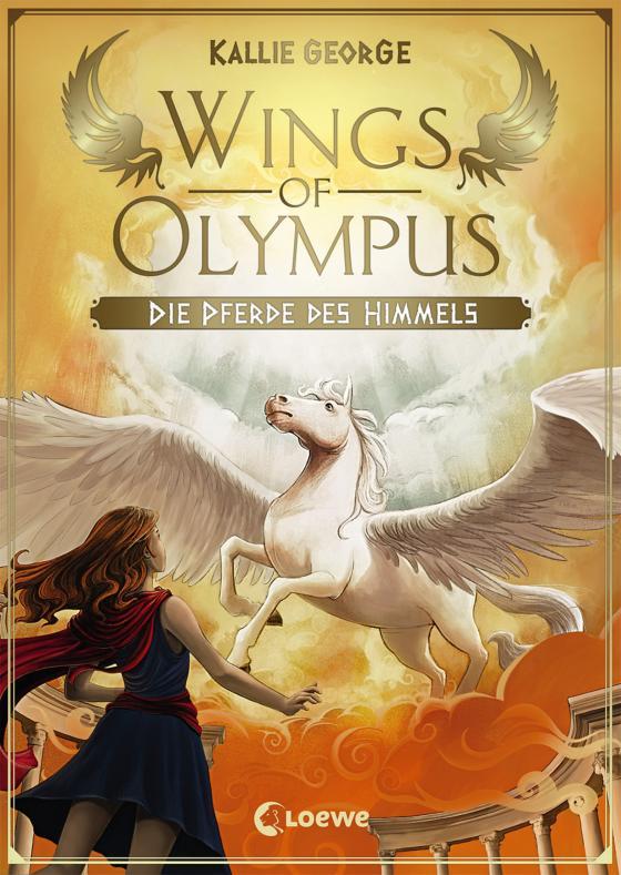 Cover-Bild Wings of Olympus - Die Pferde des Himmels