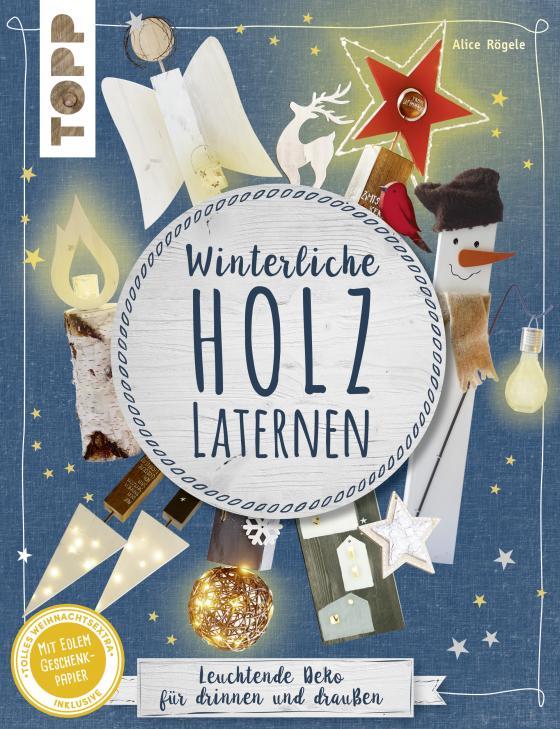 Cover-Bild Winterliche Holzlaternen (kreativ.kompakt)