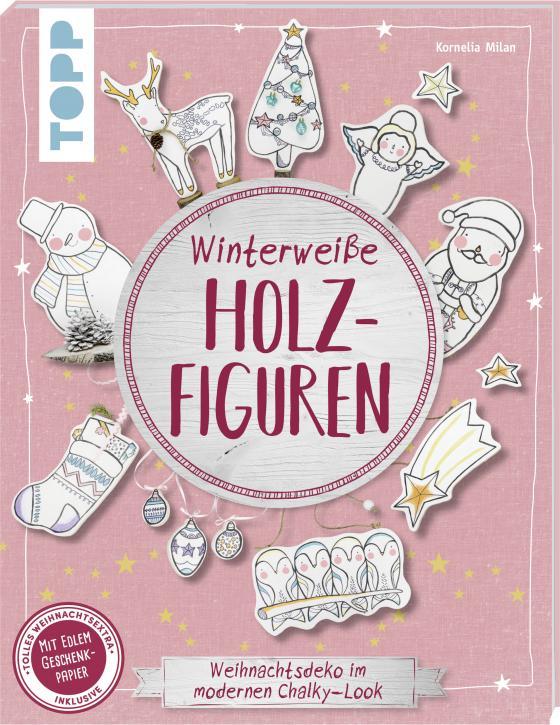 Cover-Bild Winterweiße Holzfiguren (kreativ.kompakt)