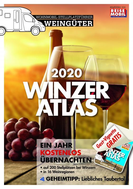 Cover-Bild WINZERATLAS 2020