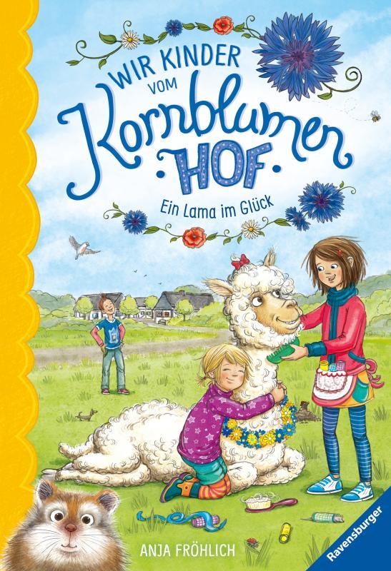 Cover-Bild Wir Kinder vom Kornblumenhof, Band 6: Ein Lama im Glück