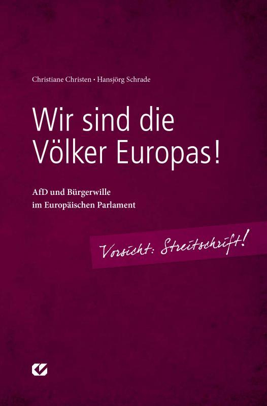 Cover-Bild Wir sind die Völker Europas!