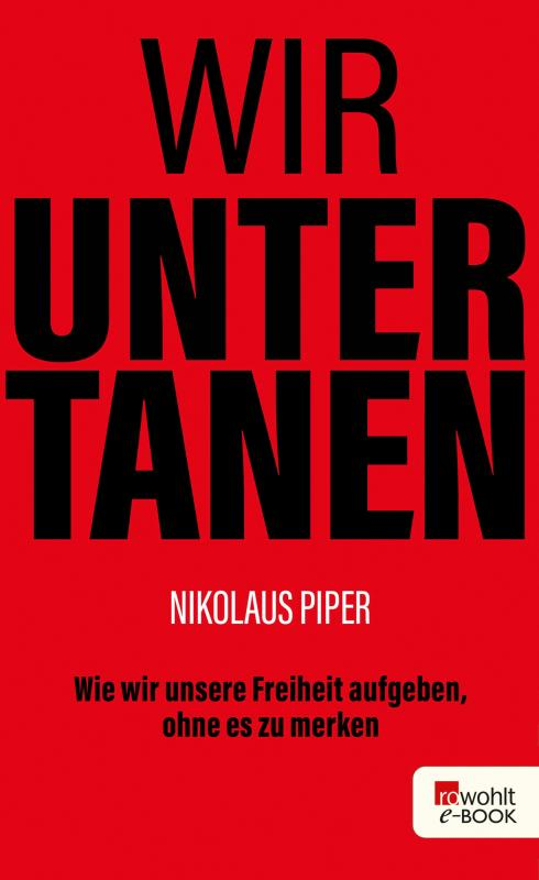 Cover-Bild Wir Untertanen