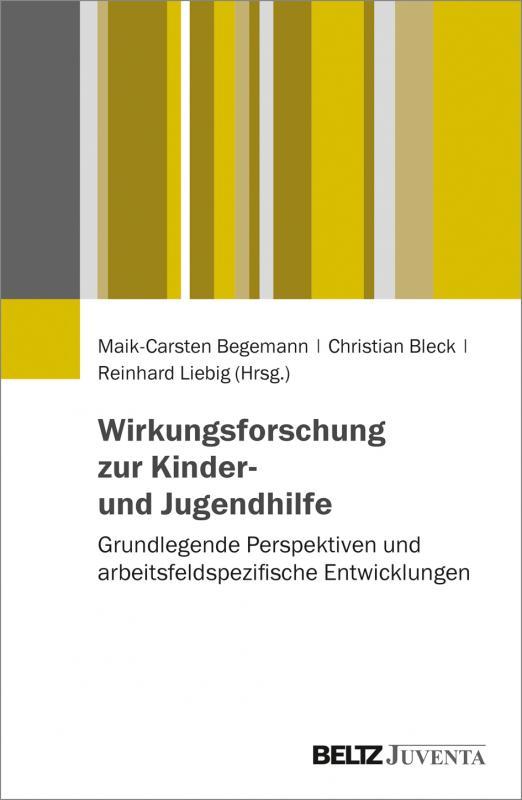 Cover-Bild Wirkungsforschung zur Kinder- und Jugendhilfe