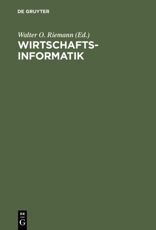 Cover-Bild Wirtschaftsinformatik