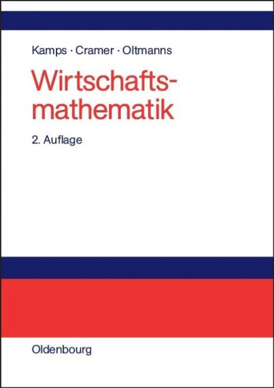 Cover-Bild Wirtschaftsmathematik