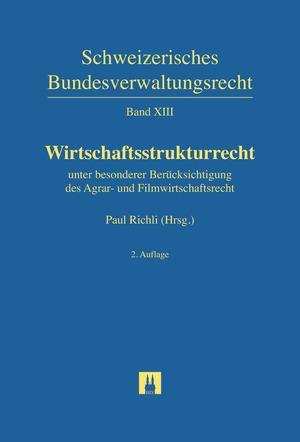Cover-Bild Wirtschaftsstrukturrecht