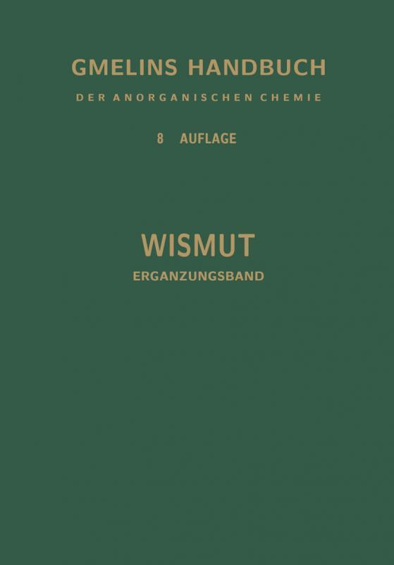 Cover-Bild Wismut