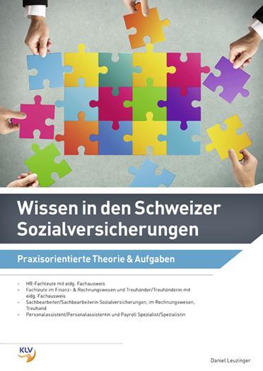 Cover-Bild Wissen in den Schweizer Sozialversicherungen