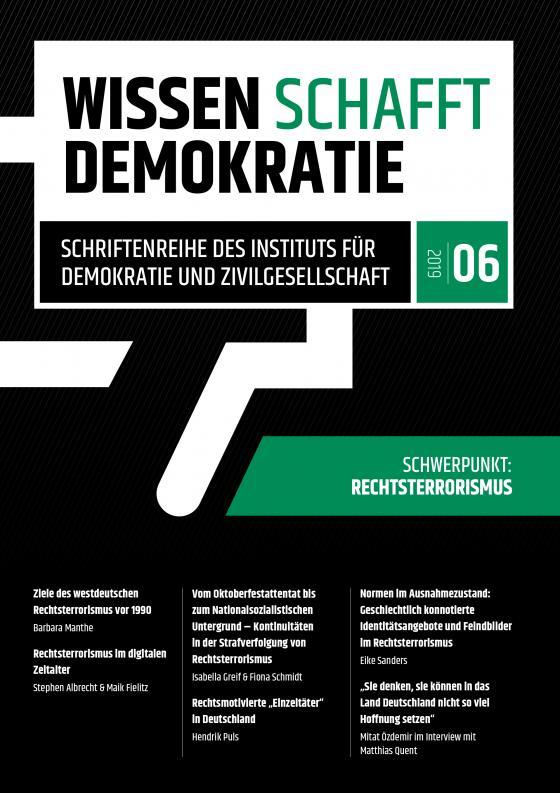 Cover-Bild Wissen schafft Demokratie