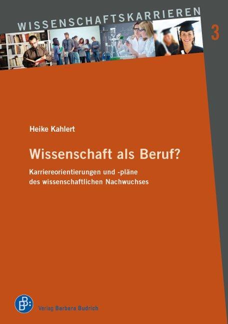 Cover-Bild Wissenschaft als Beruf?