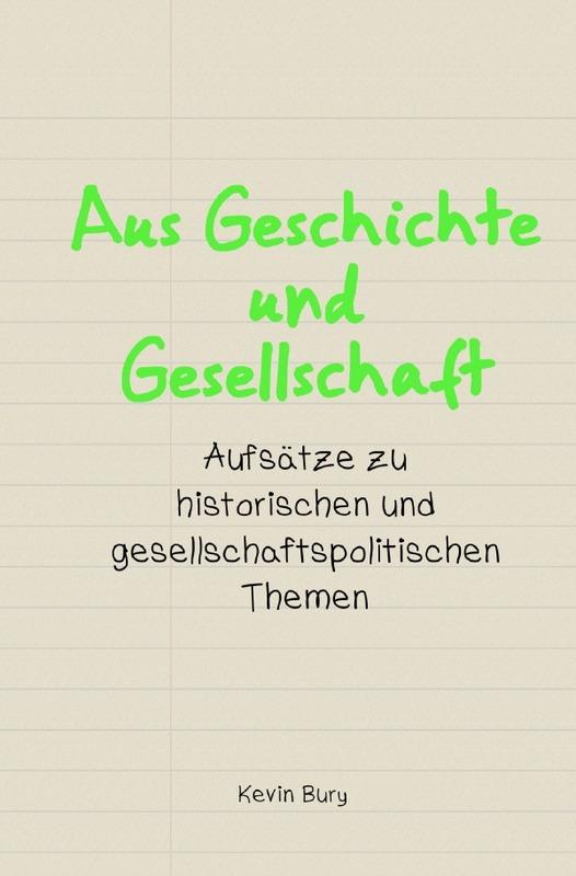 Cover-Bild Wissenschaftliche Publikationen / Aus Geschichte und Gesellschaft