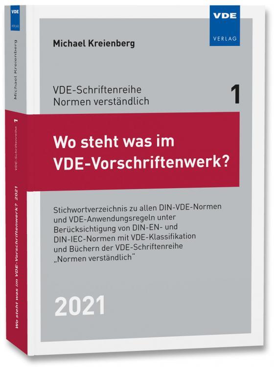 Cover-Bild Wo steht was im VDE-Vorschriftenwerk? 2021