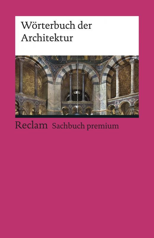Cover-Bild Wörterbuch der Architektur