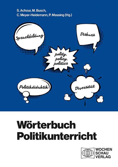 Cover-Bild Wörterbuch Politikunterricht