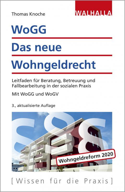 Cover-Bild WoGG - Das neue Wohngeldrecht