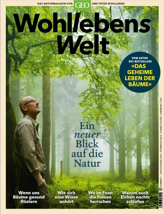 Cover-Bild Wohllebens Welt - Ein neuer Blick auf die Natur