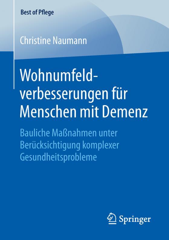 Cover-Bild Wohnumfeldverbesserungen für Menschen mit Demenz