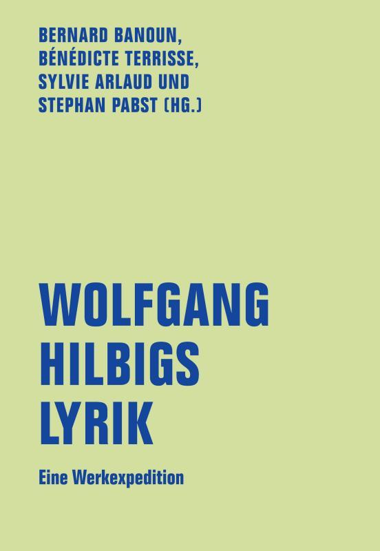Cover-Bild Wolfgang Hilbigs Lyrik