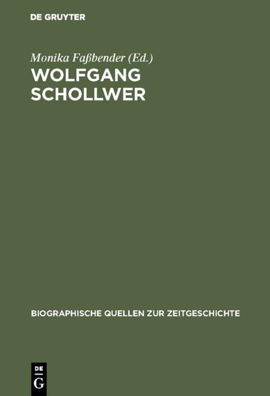 Cover-Bild Wolfgang Schollwer
