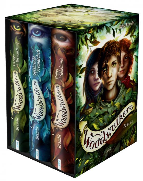Cover-Bild Woodwalkers. Band 1-3