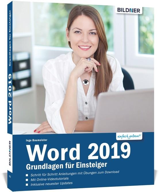 Cover-Bild Word 2019 - Grundlagen für Einsteiger