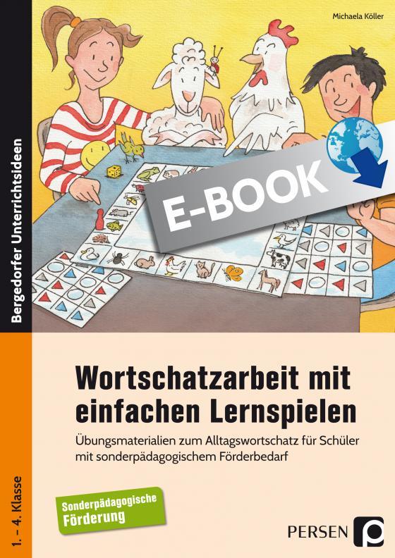 Cover-Bild Wortschatzarbeit mit einfachen Lernspielen