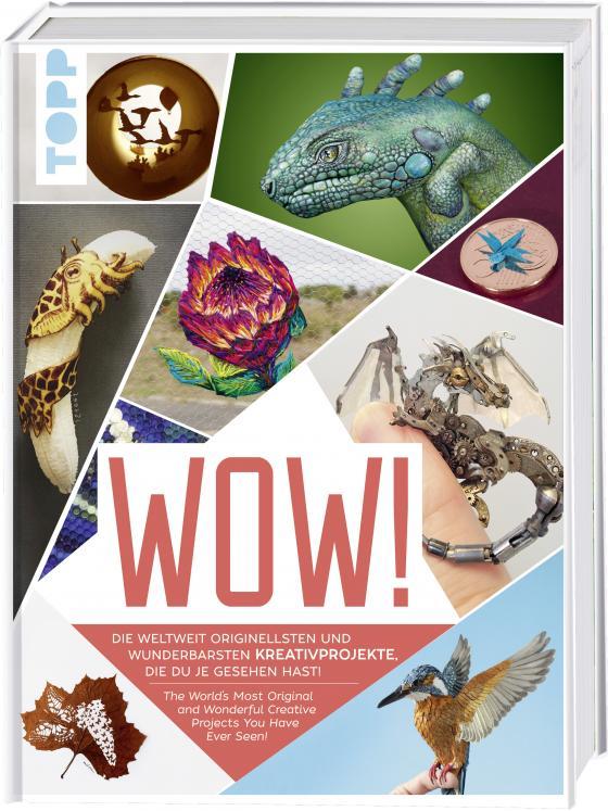Cover-Bild Wow! Die weltweit originellsten und wunderbarsten Kreativprojekte, die du je gesehen hast