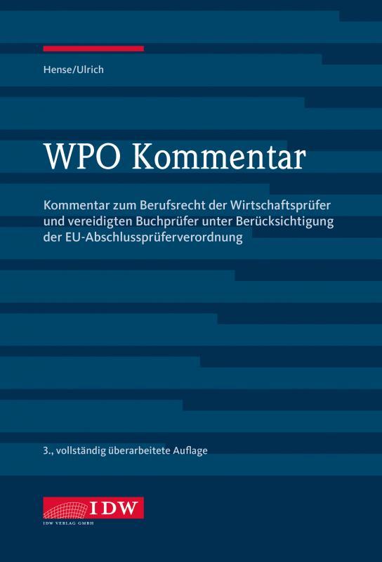 Cover-Bild WPO Kommentar