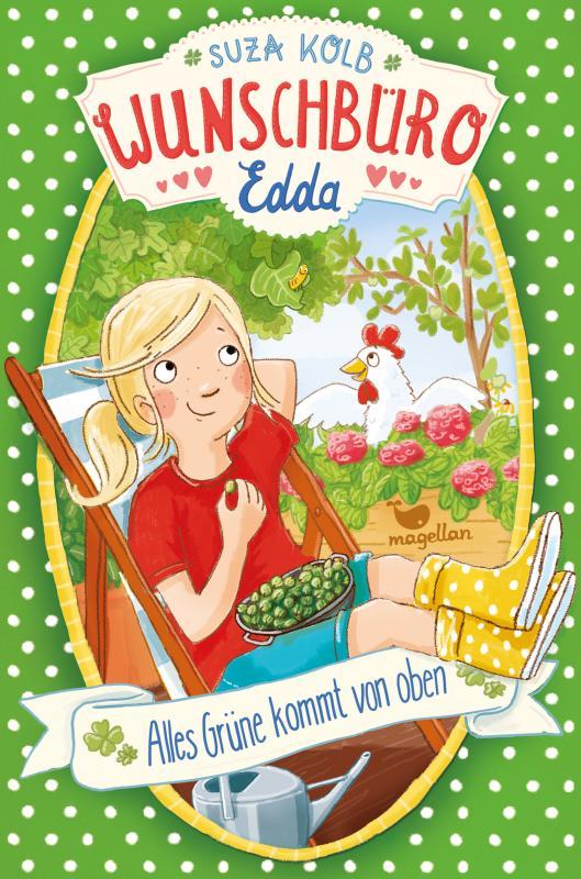 Cover-Bild Wunschbüro Edda - Alles Grüne kommt von oben - Band 3