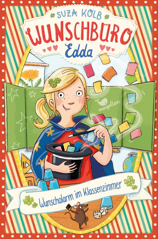 Cover-Bild Wunschbüro Edda - Wunschalarm im Klassenzimmer
