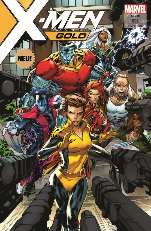 Cover-Bild X-Men: Gold