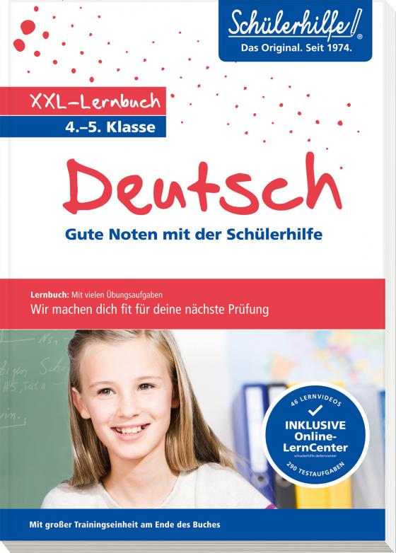 Cover-Bild XXL-Lernbuch Deutsch 4./5. Klasse