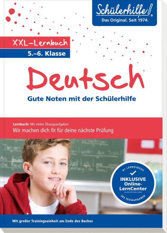 Cover-Bild XXL-Lernbuch Deutsch 5./6. Klasse